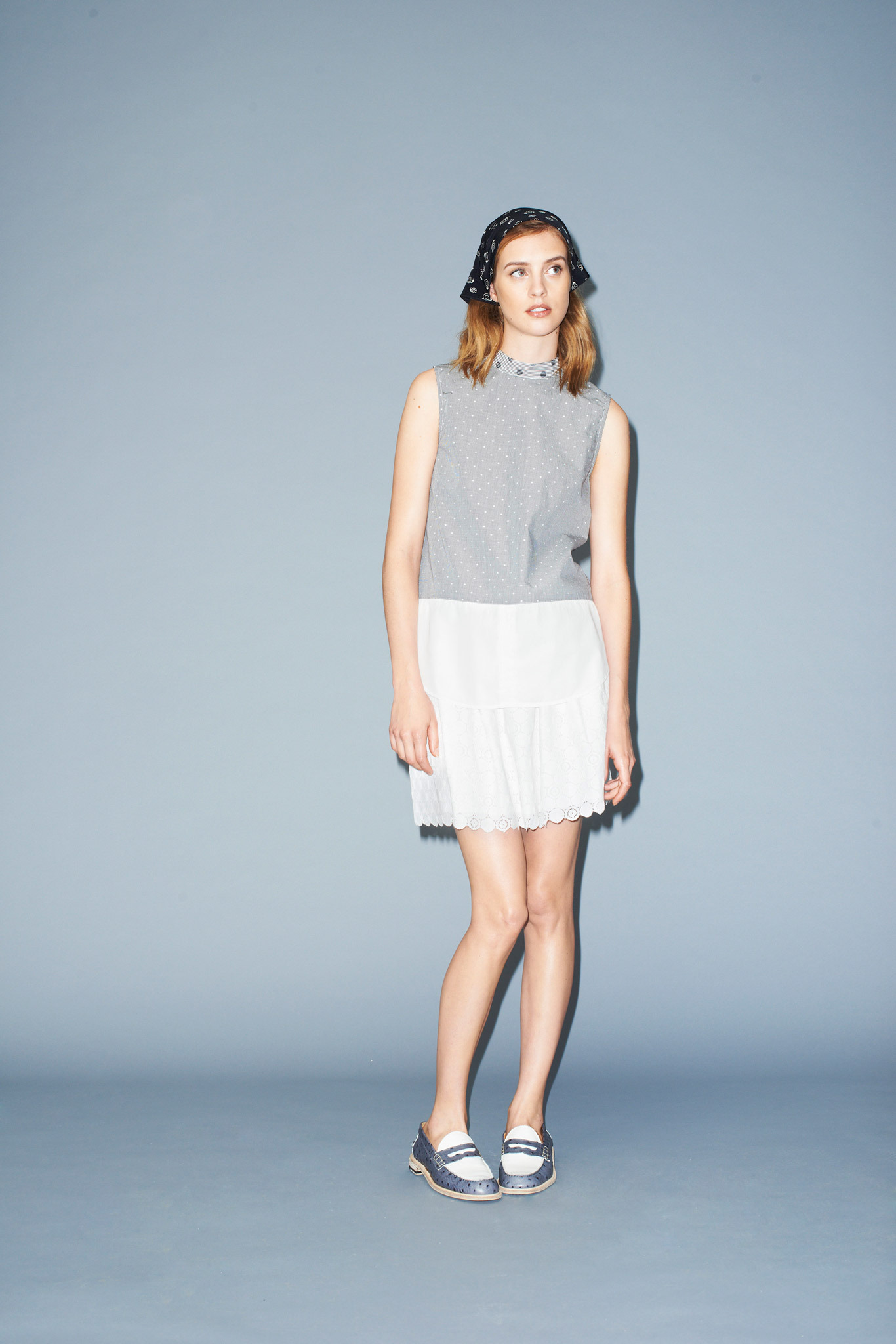 Julia Frauche | Band of Outsiders Resort 2015 (Photography: courtesy of Band of Outsiders via Style.com)