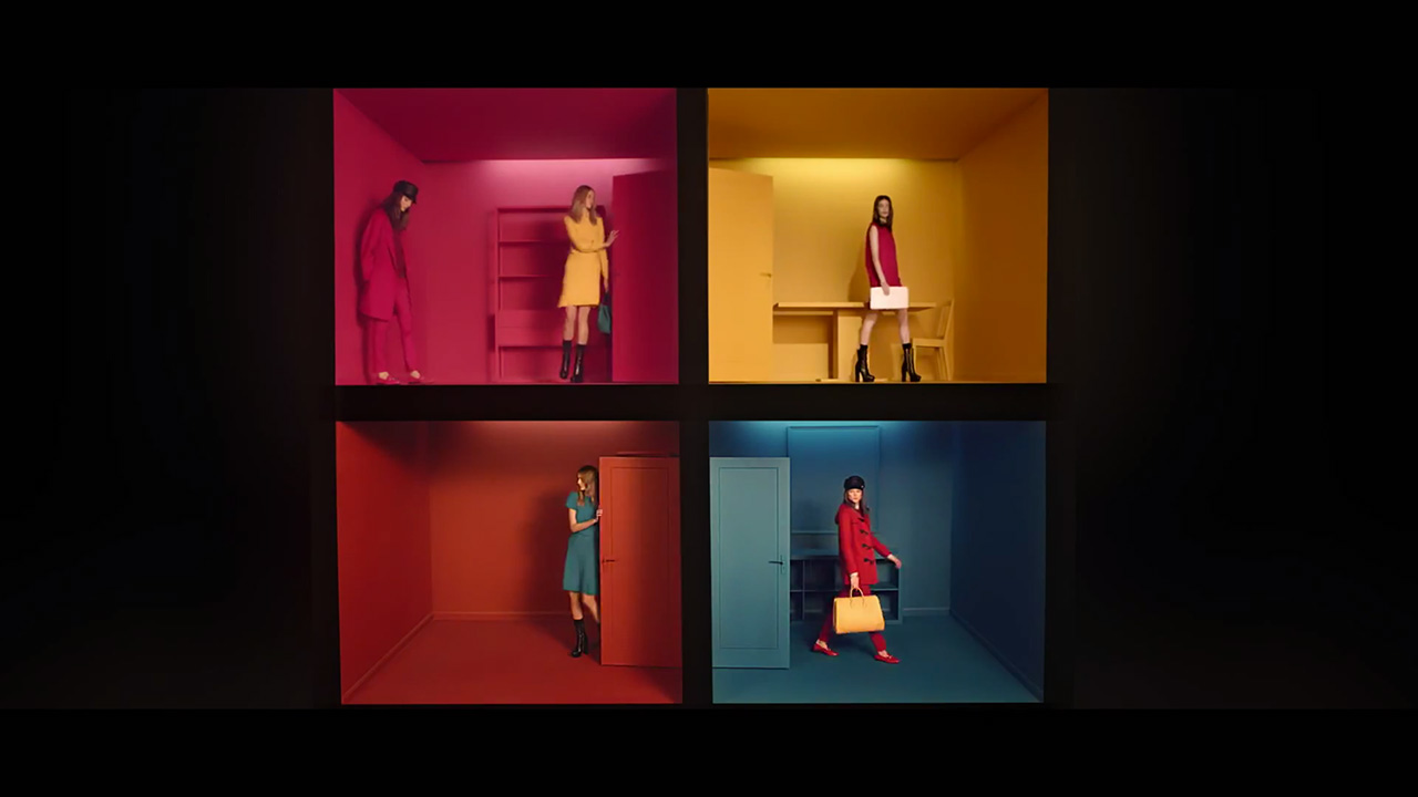 "Suvi Koponen & Zuzanna Bijoch star in Gucci's ""Bright Diamante"" (Video still: via youtube.com/gucciofficial)"