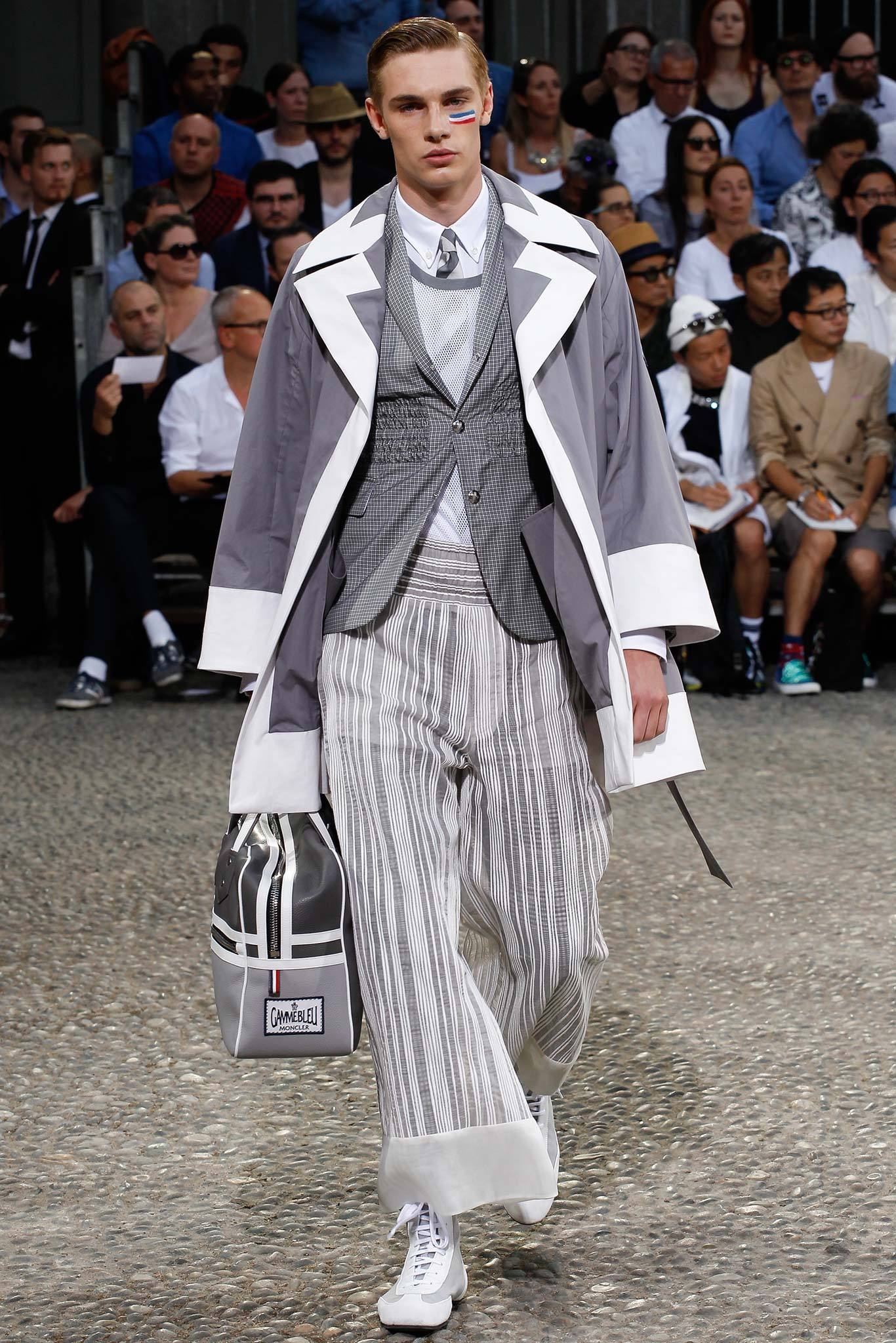 Tommy Marr | Moncler Gamme Bleu Spring 2015 Menswear (Photography: Marcus Tondo / Indigitalimages