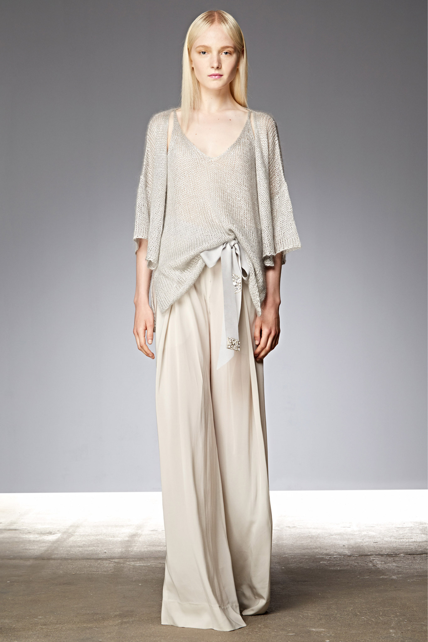 Maja Salamon | Donna Karan Resort 2015 (Photography: courtesy of Donna Karan via Style.com)