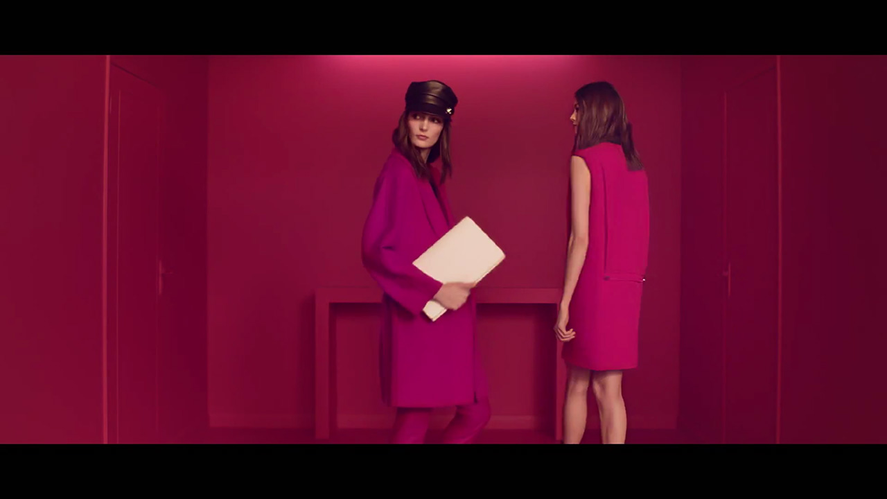 "Zuzanna Bijoch stars in Gucci's ""Bright Diamante"" (Video still: via youtube.com/gucciofficial)"