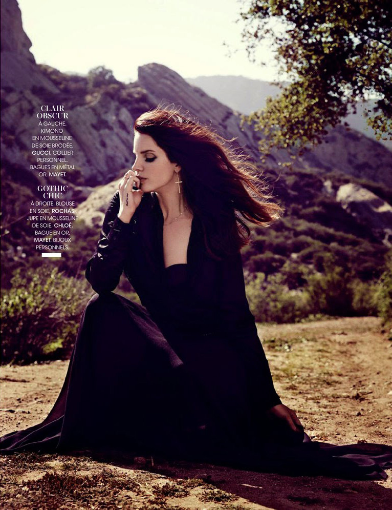 Lana Del Rey | Madame Figaro 27 June 2014 (Photography: James White)