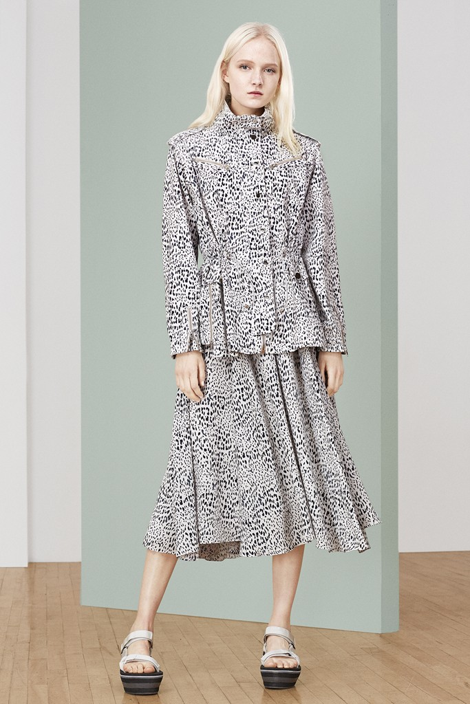 Maja Salamon | Rebecca Taylor Resort 2015 (Photography: courtesy of Rebecca Taylor via wwd.com)