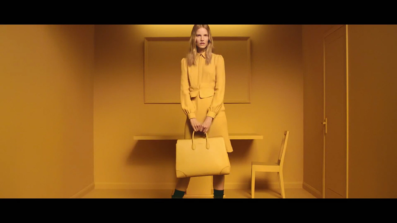 "Suvi Koponen stars in Gucci's ""Bright Diamante"" (Video still: via youtube.com/gucciofficial)"