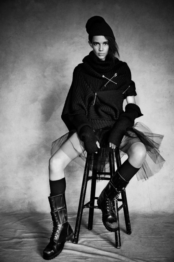 Binx | LOVE N°12 A/W 2014 (Photography: Patrick Demarchelier)