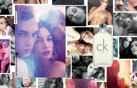 Lucky Blue & Say Lou Lou for ck one 2014 (Photography: Mario Sorrenti)