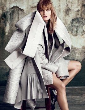 Malgosia Bela | Vogue Japan September 2014 (Photography: Luigi + Iango)