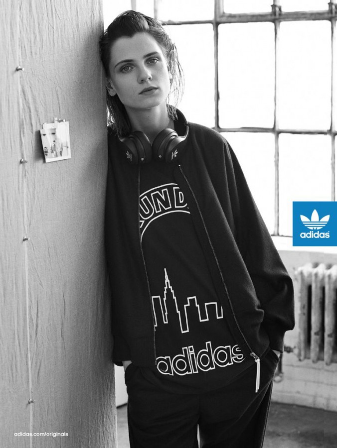 Maria Loks for adidas Originals Blue Fall 2014 (Photography: Josh Olins)