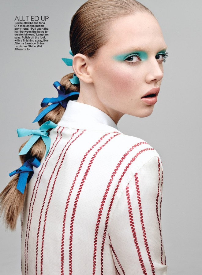 Holly Rose | Teen Vogue August 2014 (Photography: Jason Kibbler; Hair: Esther Langham)
