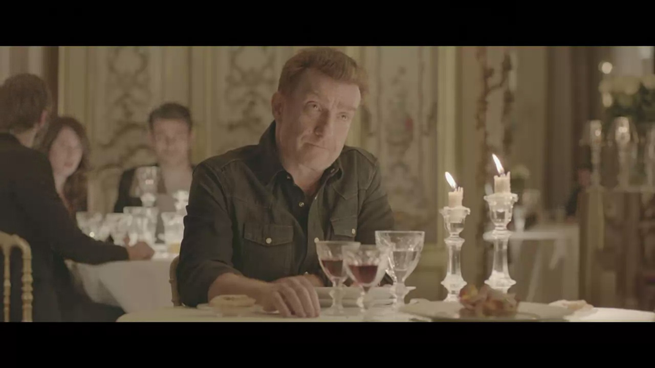"Thierry Frémont stars in ""Ex"" by Sonia Sieff for Baccarat (Video still: via Style.com)"