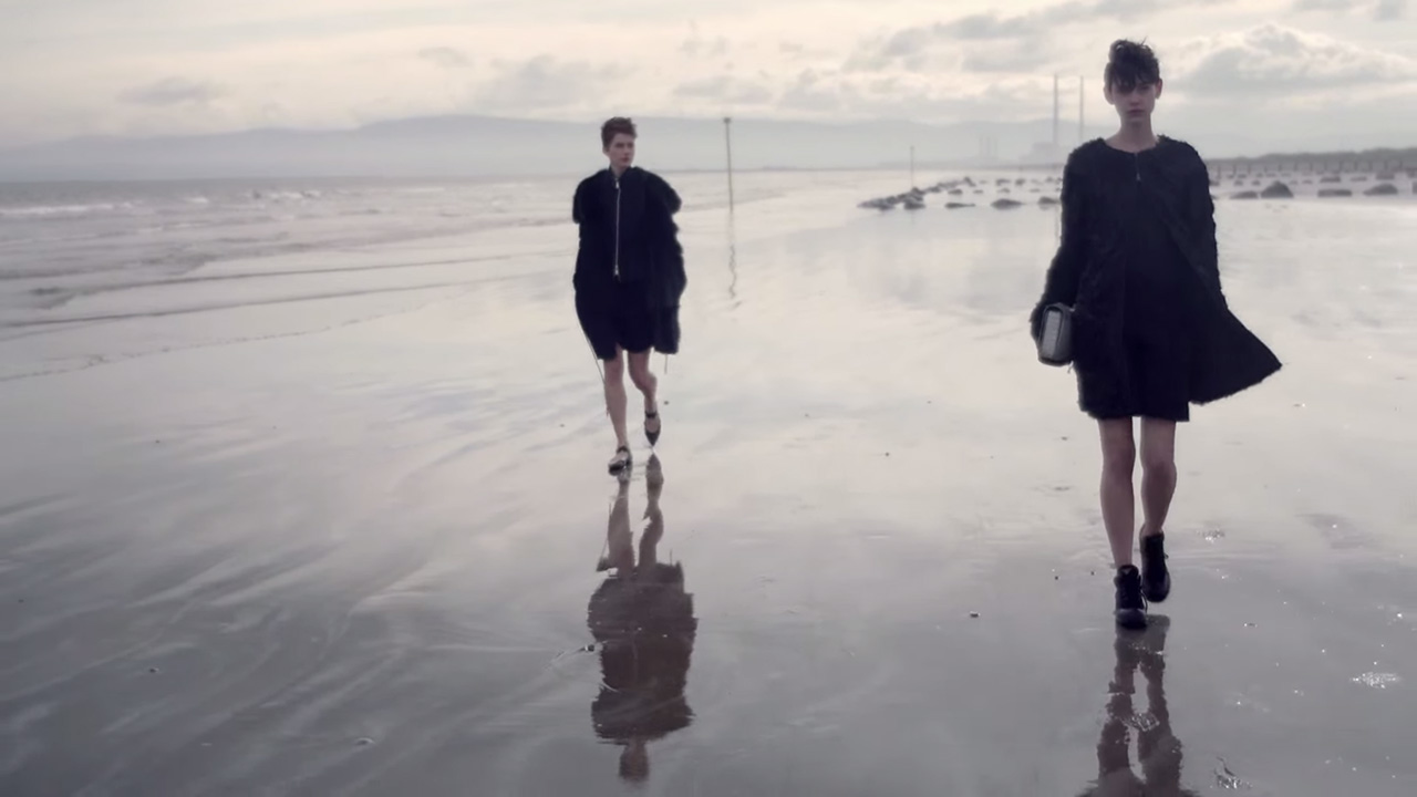 Benthe de Vries for Emporio Armani Fall / Winter 2014 (Video still: Boo George)