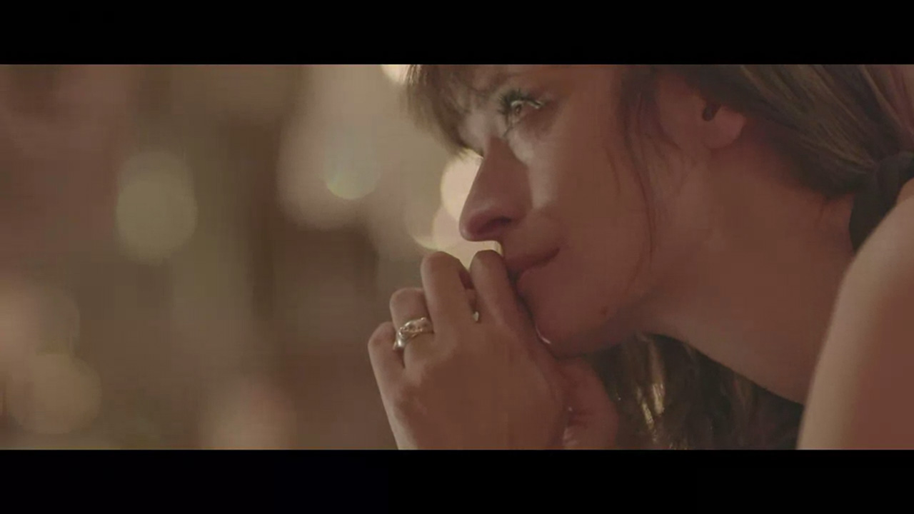 "Caroline de Maigret stars in ""Ex"" by Sonia Sieff for Baccarat (Video still: via Style.com)"