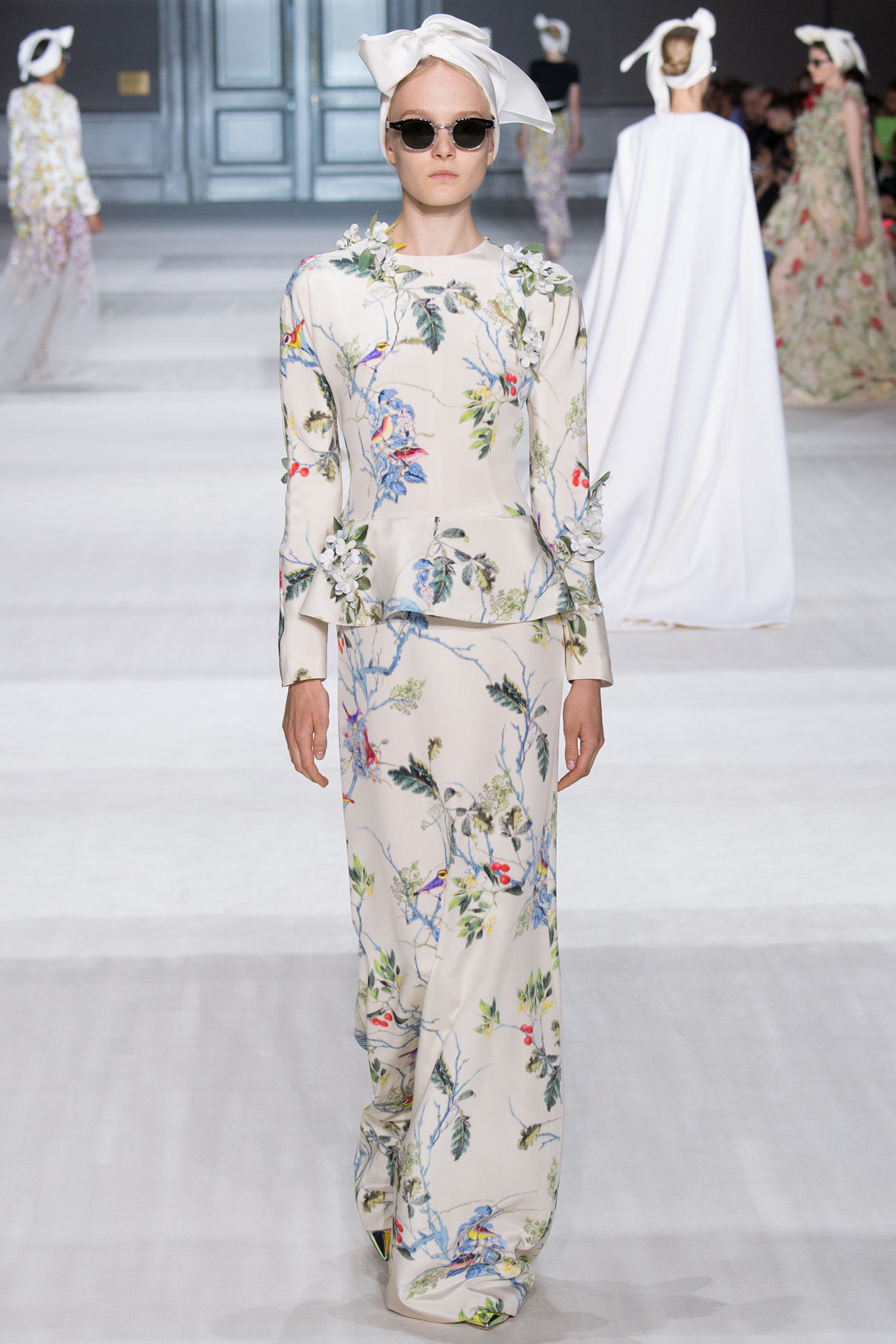 Maja Salamon | Giambattista Valli Fall 2014 Couture (Photography: Yannis Vlamos / Indigitalimages.com)