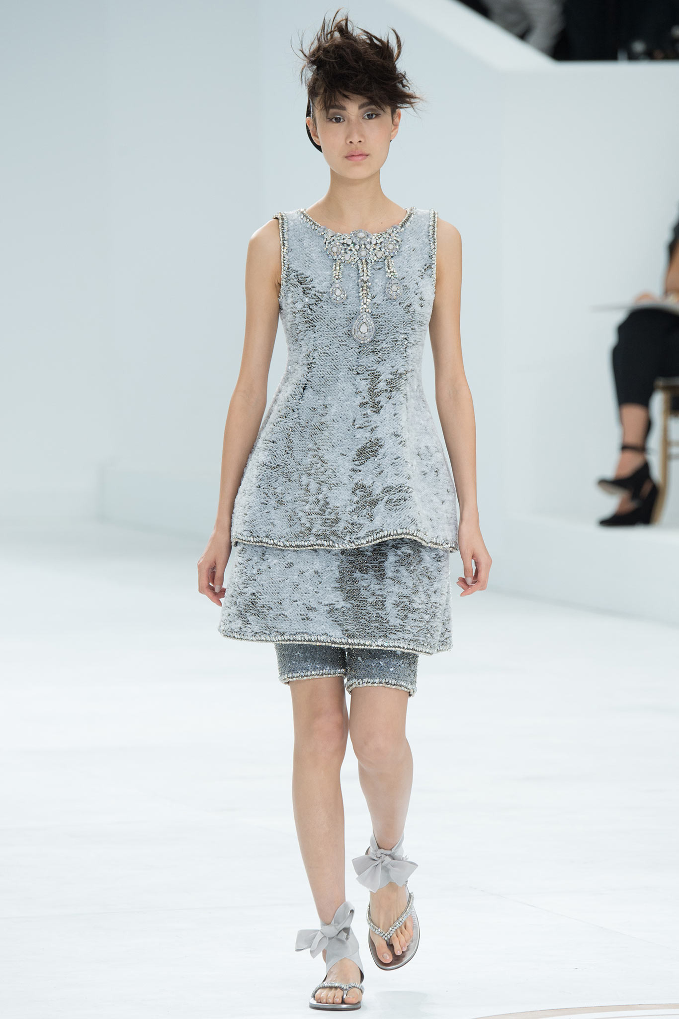 Shu-Pei Qin | Chanel Fall 2014 Couture (Photography: Kim Weston Arnold / Indigitalimages.com via Style.com)