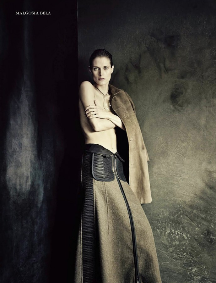 Malgosia Bela | Vogue Italia September 2014 (Photography: Paolo Roversi)