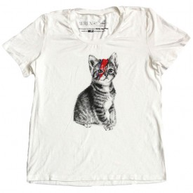 Langley Fox collaborates with Wren on Kitty Stardust Charity Tee (Photography: courtesy of Wren)