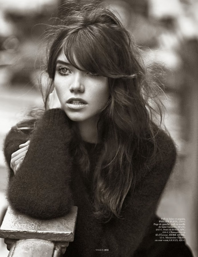 Grace Hartzel | Vogue Paris September 2014 (Photography: Lachlan Bailey)