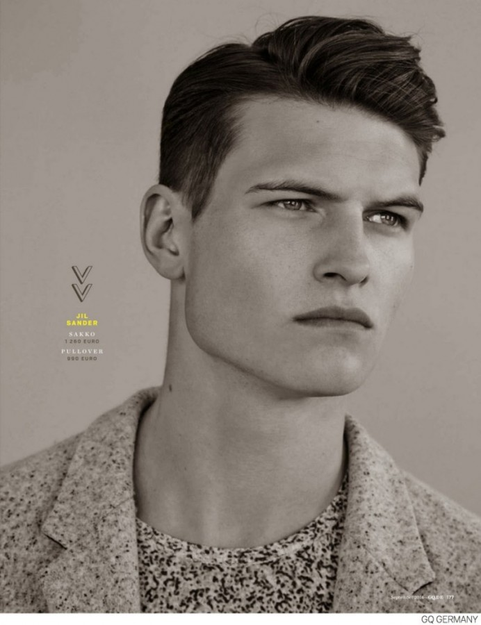 John Todd | GQ Germany September 2014 (Photography: Bruno Staub)