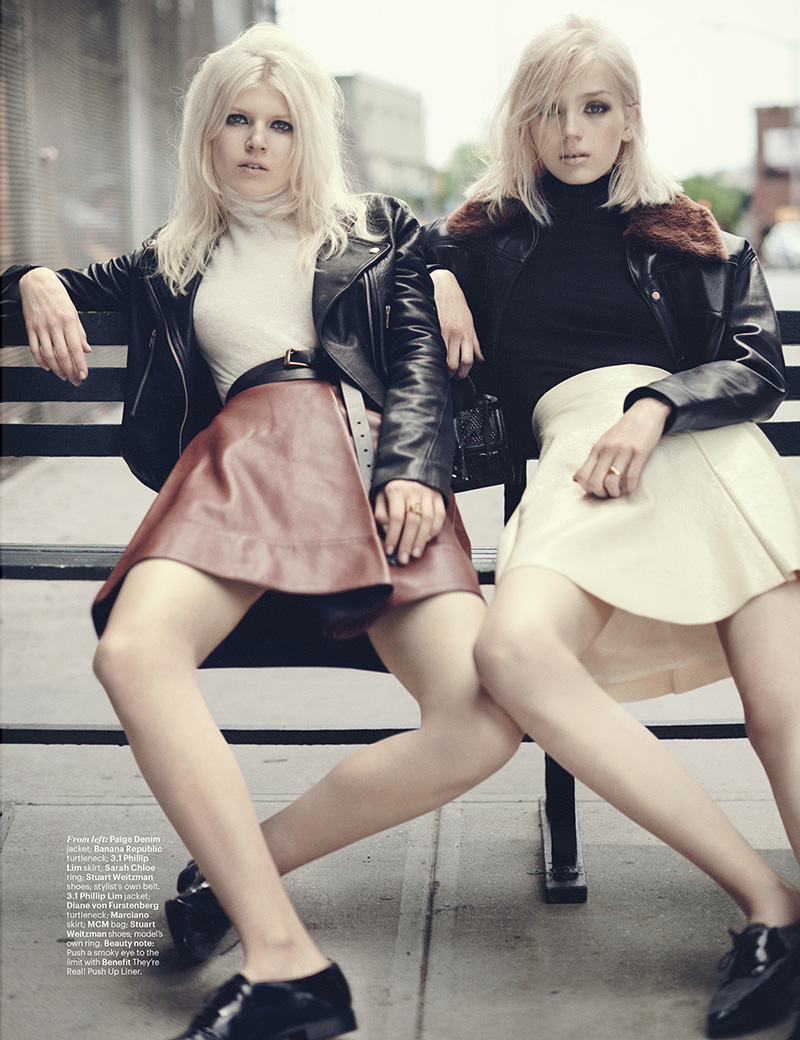 Ola Rudnicka & Esmeralda Seay-Reynolds | W September 2014 (Photography: Boo George)