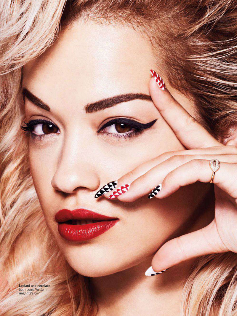 Rita Ora | Glamour UK September 2014 (Photography: Jem Mitchell)