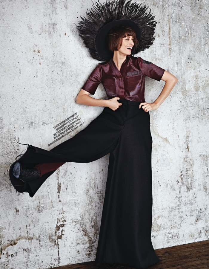 Caroline De Maigret | ELLE China September 2014 (Photography: Yuangui Mei)