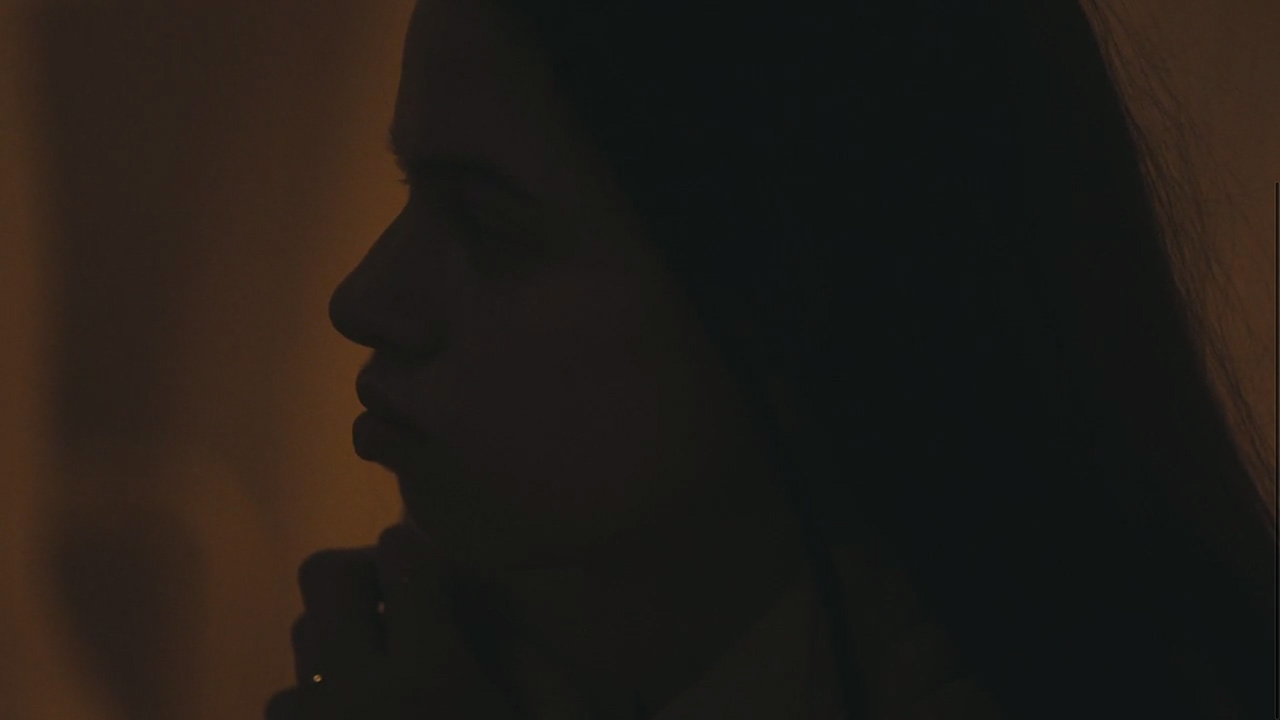 """Forboding — Lily McMenamy in """"Weight of Love"""" by The Black Keys (Video still: Theo Wenner)"""