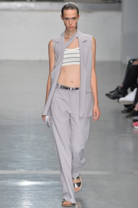 Georgia Hilmer | Richard Nicoll Spring 2015 (Photography: Stefano Masse Indigitalimages.com via Style.com)
