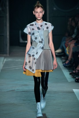 Lera Tribel (C) | Marc by Marc Jacobs Spring 2015 (Photography: Yannis Vlamos / Indigitalimages.com via Style.com)