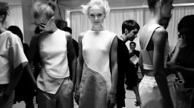 Maja Salamon | 3.1 Phillip Lim Spring 2015 (Video still: Damien Neva)