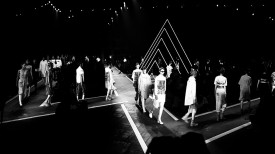 One hell of a rave | Marc by Marc Jacobs Spring 2015 (Video still: Damien Neva)