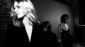 ...to opening the show! | Vera Wang Spring 2015 (Video still: Damien Neva)