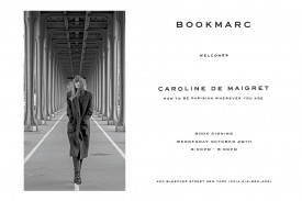 Caroline De Maigret book signing at Bookmarc NY on 29 October 2015