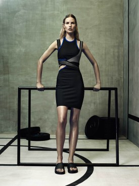 Suvi Koponen | Alexander Wang x H&M (Photography: courtesy of H&M via Vogue.com)