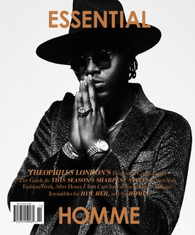 Theophilus London | Essential Homme October / November 2014 (Photography: Kevin Sinclair)