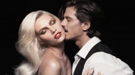 Aline Weber for Tom Ford Lips & Body Fall 2014 (Video still: via YouTube)