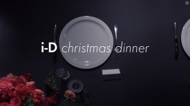 i-D Christmas Dinner 2014 (Video still: via i-D.co)