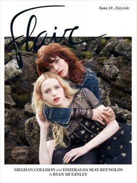 Meghan Collison & Esmeralda Seay-Reynolds | Flair N°14 December 2014 (Photography: Ryan McGinley)