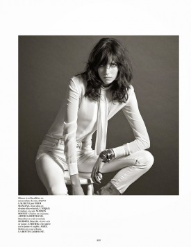 Grace Hartzel | Vogue Paris December 2014 (Photography: Mario Sorrenti)