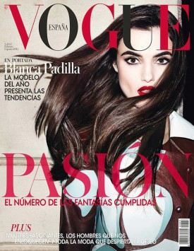 Blanca Padilla | Vogue España February 2015 (Photography: Matt Irwin)