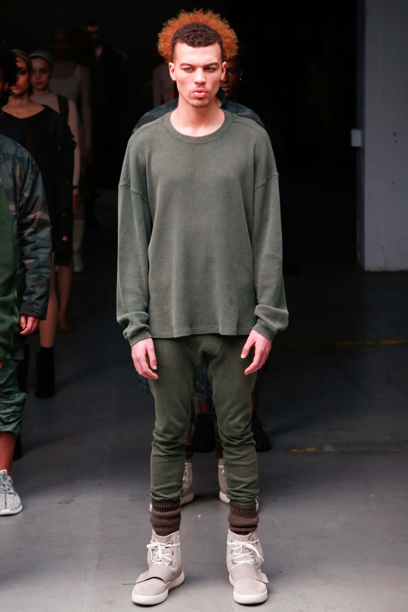 Kanye West Fashion Show Review