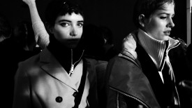And then there were two — Grace & Laura Julie | Rag & Bone Fall Women's Fall / Winter 2015 (Video still: Damien Neva)