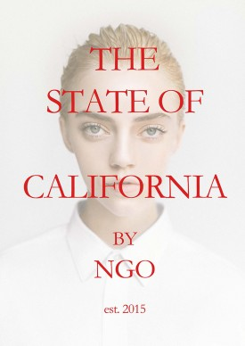 The State of California, front cover (Photography: Michael Ngo)