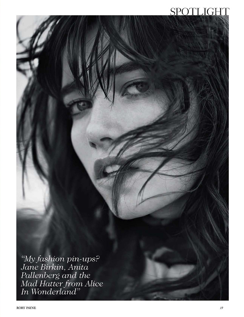 Grace Hartzel | British Vogue May 2015 [Supplement] (Photography: Rory Payne)