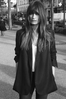 Caroline de Maigret for Equipment Fall 2015 Photography: Bertrand Le Pluard)