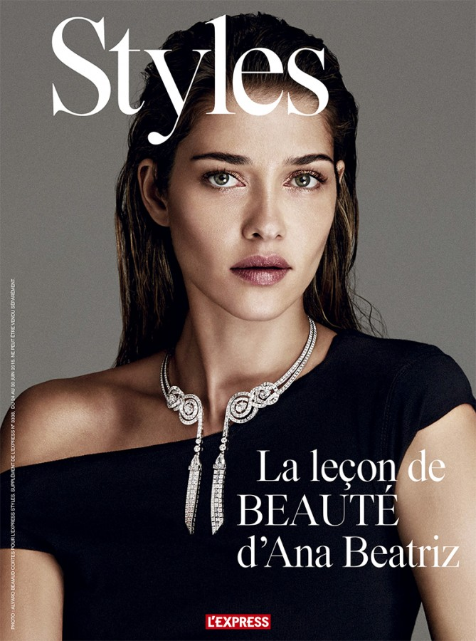 Ana Beatriz Barros | L'Express Style N°3338 30 June 2015 (Photography: Alvaro Beamud Cortes)