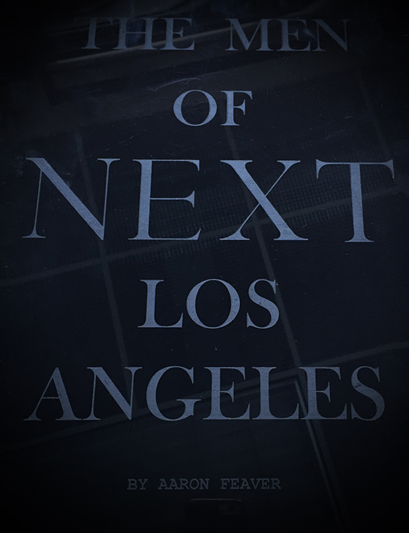 cover page the men of next los angeles photography aaron feaver - Photography Cover Page