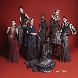 Riley Montana & Grace Simmons for Marc Jacobs Fall 2015 (Photography: David Sims)