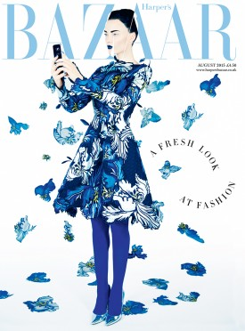 Naty Chabanenko | Harper's Bazaar UK August 2015 (Photography: Erik Madigan Heck)
