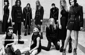 Binx & Alice Glass for Alexander Wang Fall 2015 (Photography: Steven Klein)