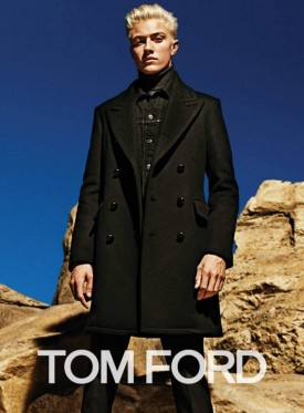 Lucky Blue Smith for Tom Ford Autumn / Winter 2015 (Photography: Mario Sorrenti)